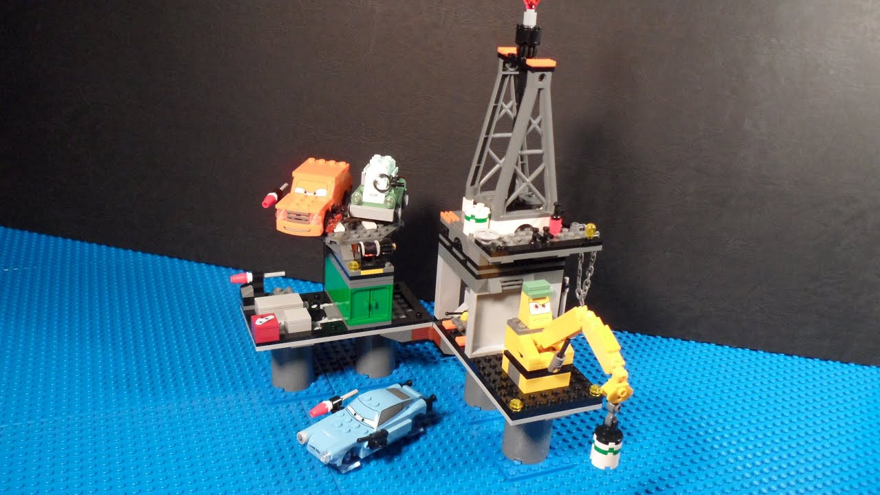 Lego Cars  Oil Rig Escape Review