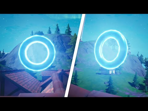 Collect Floating Rings at Misty Meadows All Locations - Fortnite