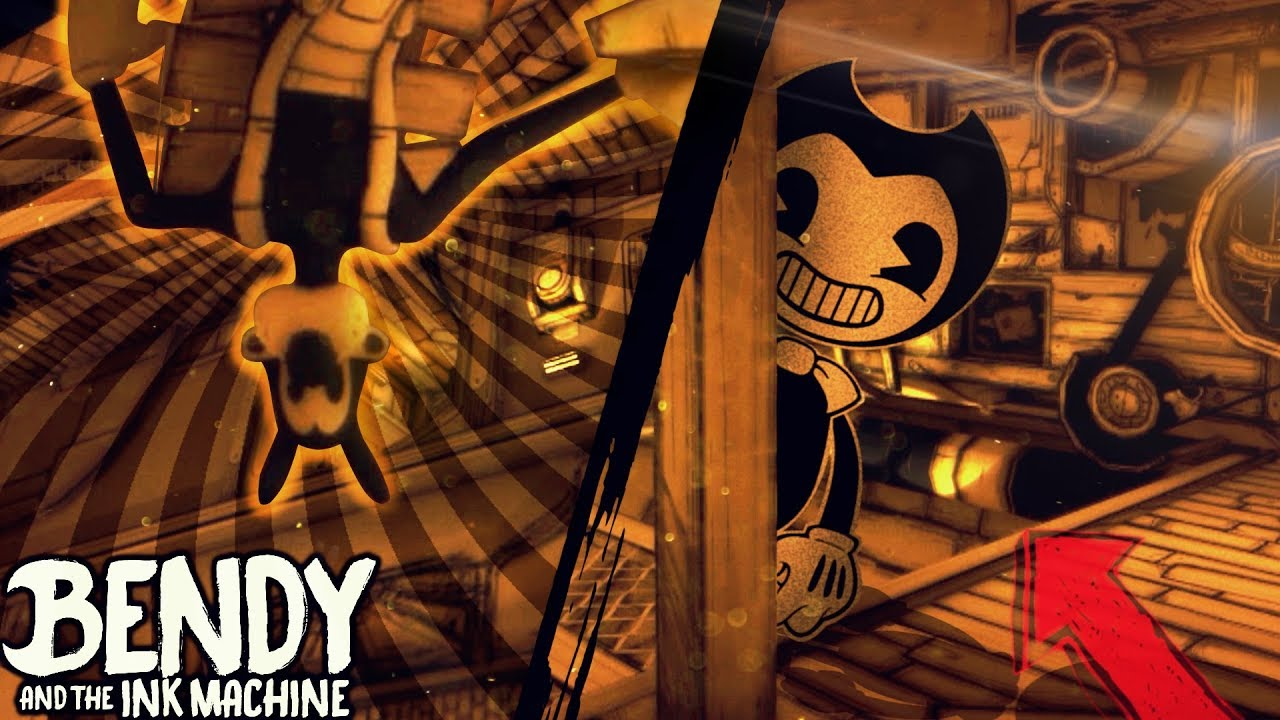 Upside Down World Hacking Bendy And The Ink Machine Chapter 3 Way Switch Speed Hack