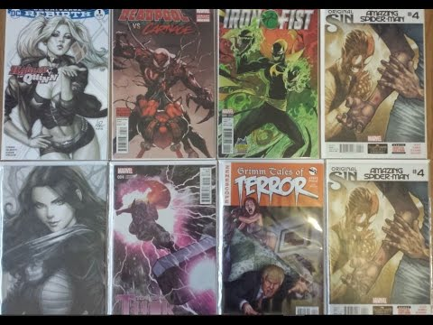 Comic Book Rant & Ramble Episode 16: The All Over Haul Over