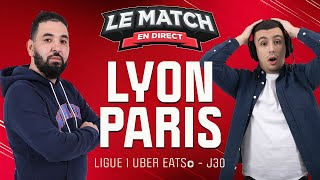 🔴 Lyon - Paris / Le Match en direct avec Momo Henni (Football)