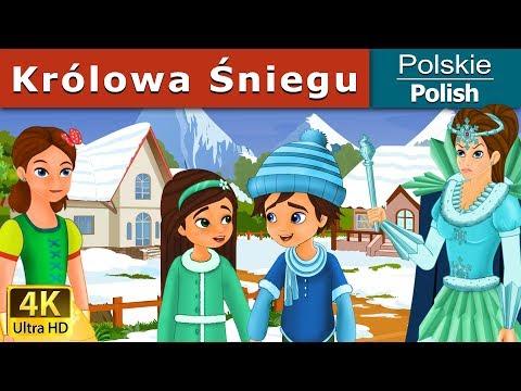 Królowa Śniegu - The Snow Queen in Polish - 4K UHD - Polish Fairy Tales