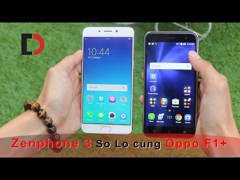 So sánh Oppo F1 Plus với Zenfone 3 - Bạn thích em nào hơn ?