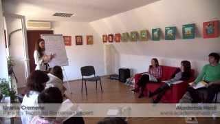 Parenting cu Urania Cremene la Academia Heidi in Brasov