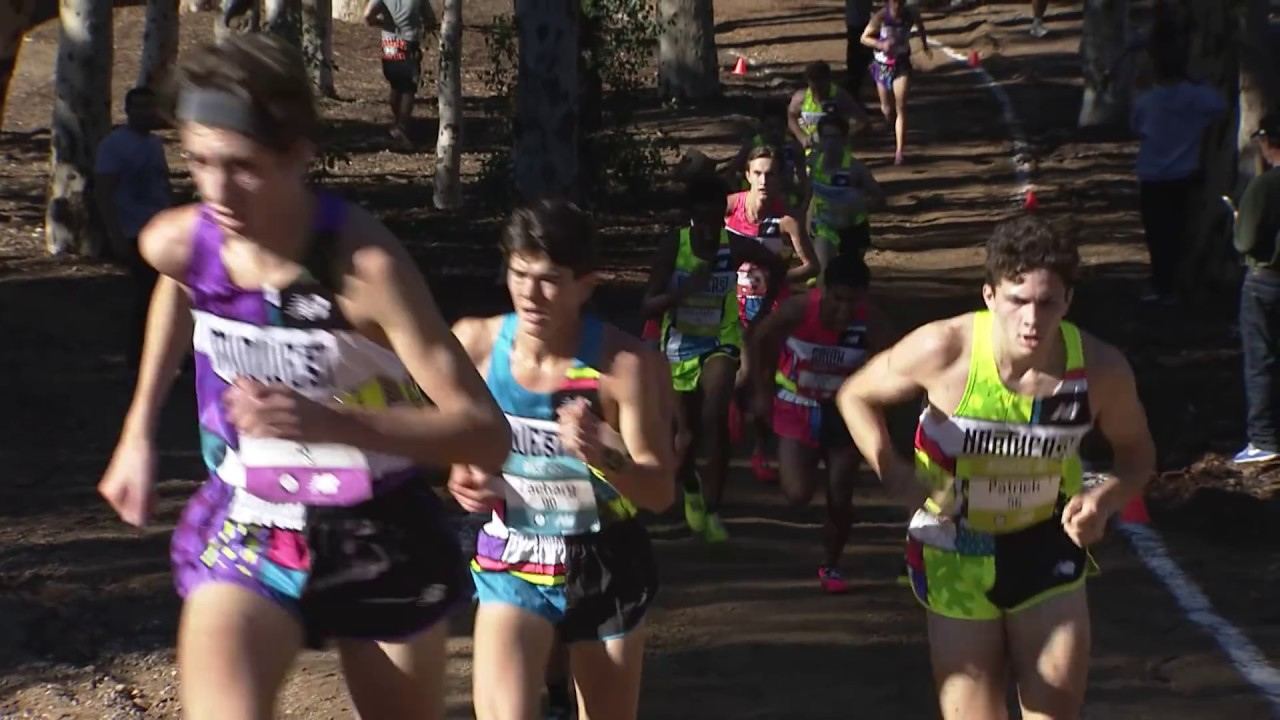 2018 Foot Locker CC National Championship Boys Race