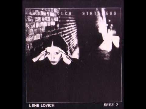 Lene Lovich   Stateless 1978 full album