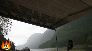 Repeat youtube video Nature Sounds: Rain on a Tarp Tent Roof