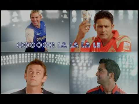 Kingfisher Ad With IPL Players