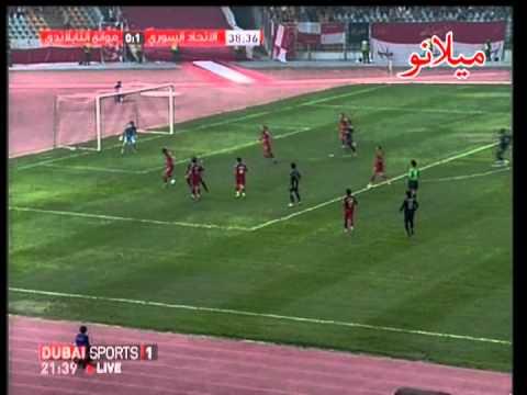 Ittihad of Aleppo  Syria  VS Muangthong United FC  Thailand    AFC Cub Semi Final 2 of 3