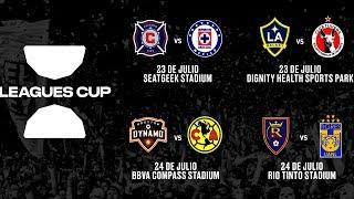 ASÍ se JUGARÁ la LEAGUES CUP el NUEVO TORNEO de la LIGA MX vs la MLS
