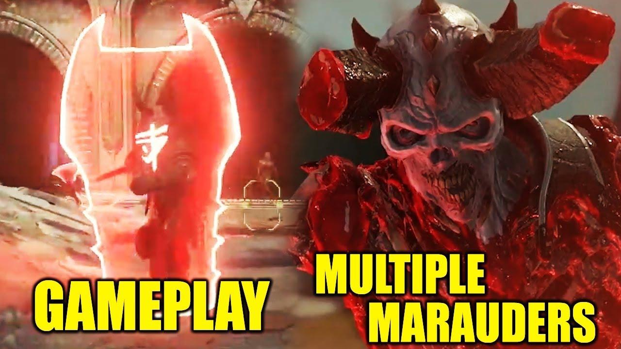 New Doom Eternal Marauder Gameplay And Lore Multiple Marauders