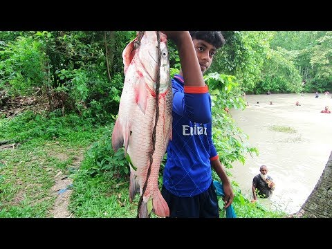 Largest Fish Caught by Hand Made Fishing Tools