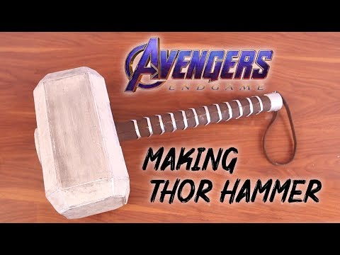 How to make Thor's hammer from Avenger : End Game