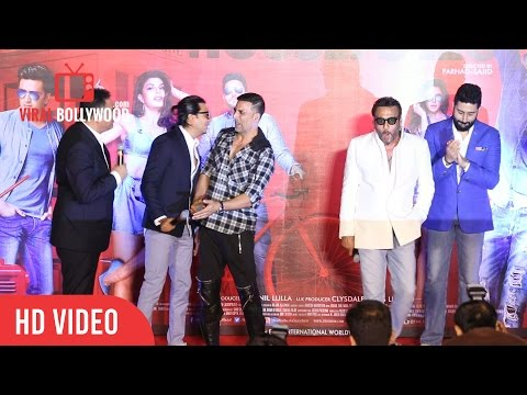Jackie Shroff Comedy At Housefull 3 Trailer Launch  | Jaagu Dada | Bawa | Bidhu | Tiger