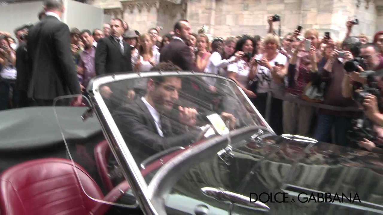 David Gandy leaves from La Rinascente