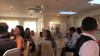Funny son of the bride wedding speech