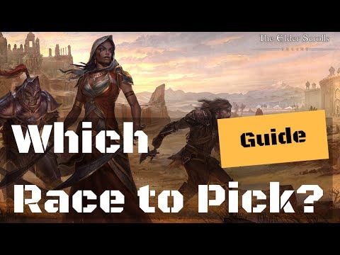 Elder Scrolls Online Races - Guide to Racial Passives & Start Zones - Which Should You Pick?