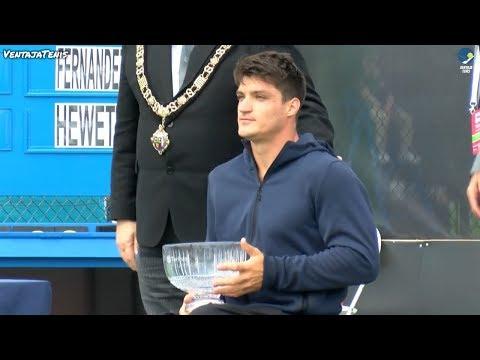 Gustavo Fernandez vs. Alfie Hewett - Final British Open 2017 [Highlights]