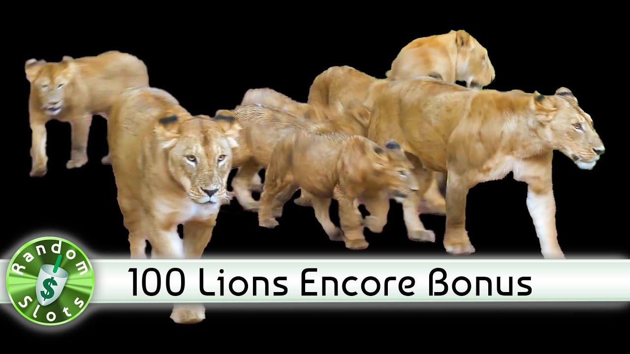 100 Lions Slot Machine Online