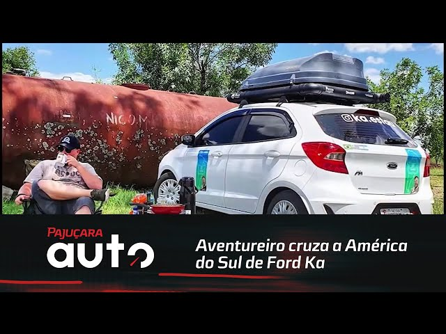 Aventureiro cruza a América do Sul de Ford Ka