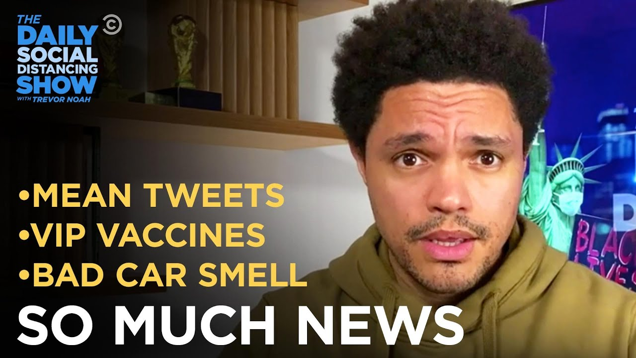 """""""Mean Tweets"""" Threaten Biden Cabinet & DeSantis Gives VIP Vaccines 