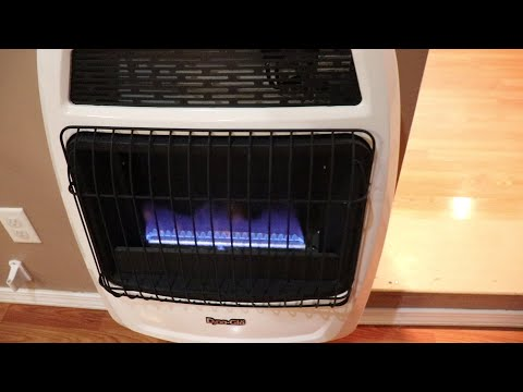 how to install a vent free gas heater