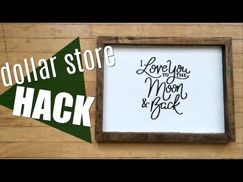 DIY Dollar Store Hack - $6