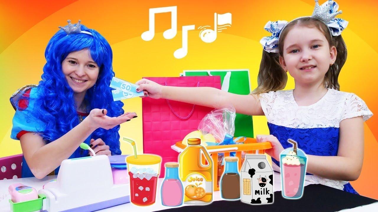 Детские песни и клипы - Игры в магазин. Сборник песенок и видео для детей