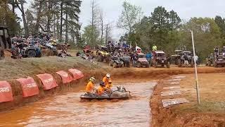 Argo races at mud nationals 2018 super funny mud bumper cars