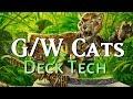 Mtg Deck Tech: G/W Cats in Core Set 2019 Standard!