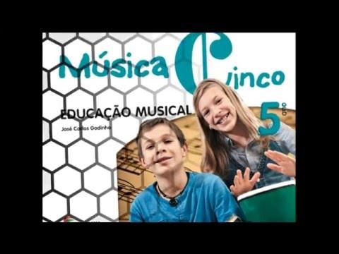 Apresentação do projeto Música Cinco - Educação Musical 5.º Ano
