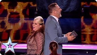 HILARIOUS Mandy Muden brings her bag of magic tricks to the Semi's! | Semi-Finals | BGT 2018 thumbnail