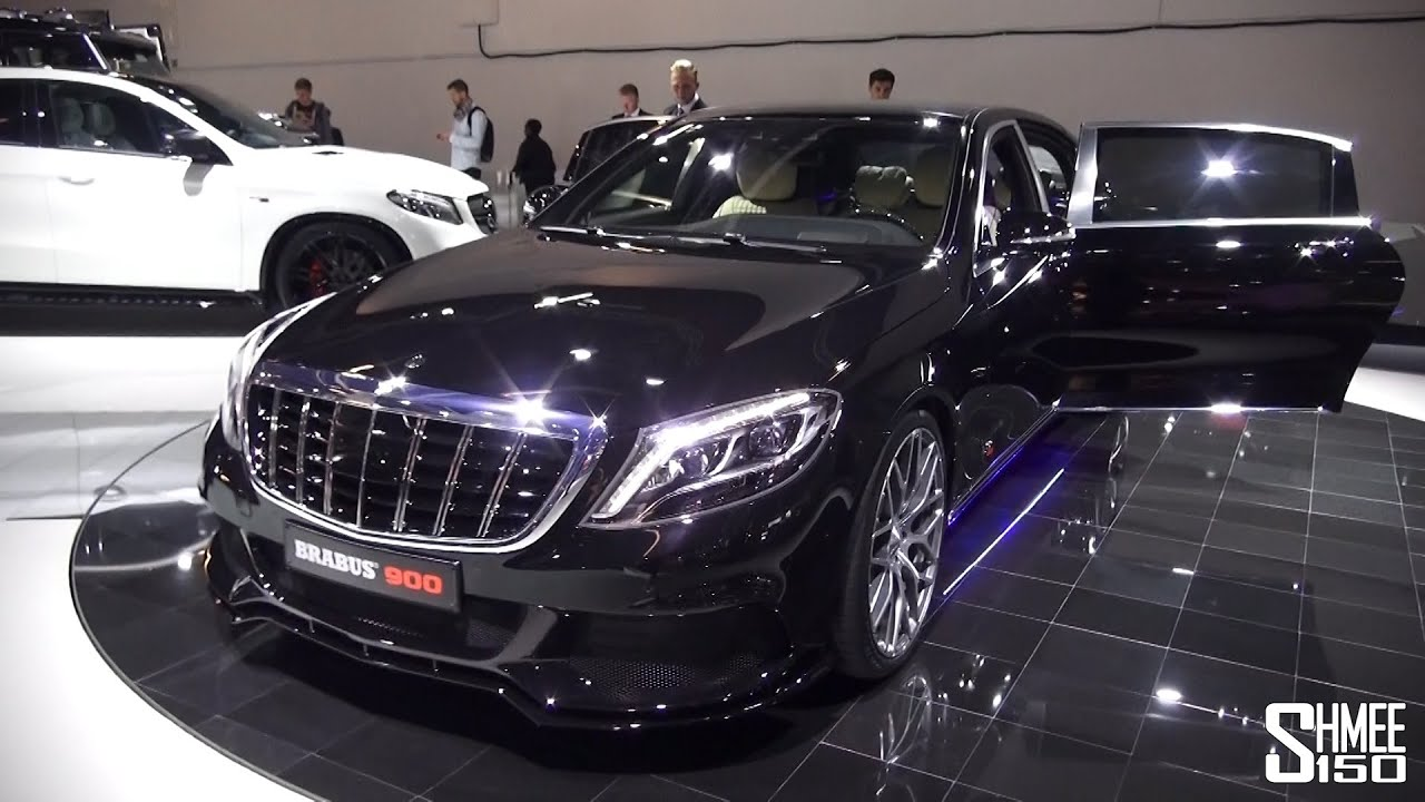 brabus maybach 900, amg gt s 600, c63 s 600 - stand tour - youtube