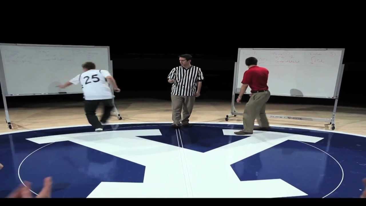 BYU Mathletes Rap Music Video