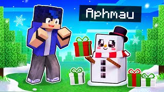 Playing Minecraft As A Helpful Snowman!