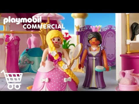 Playmobil Le Chateau De Princesse Youtube