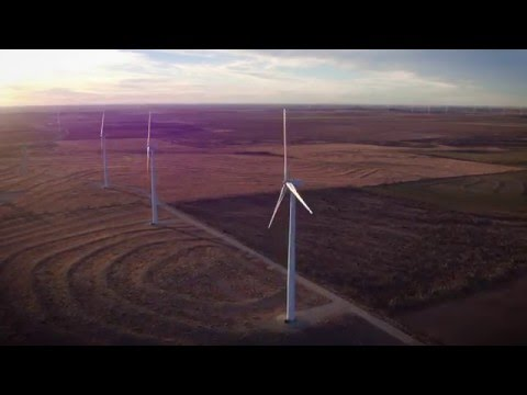 Sweetwater, TX-Wind Turbine Farm-1/23/16