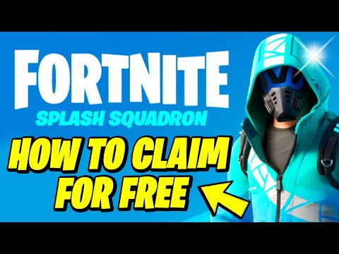 How to get the Fortnite Surf Strider Outfit Skin For FREE (Intel Splash Squadron Set)