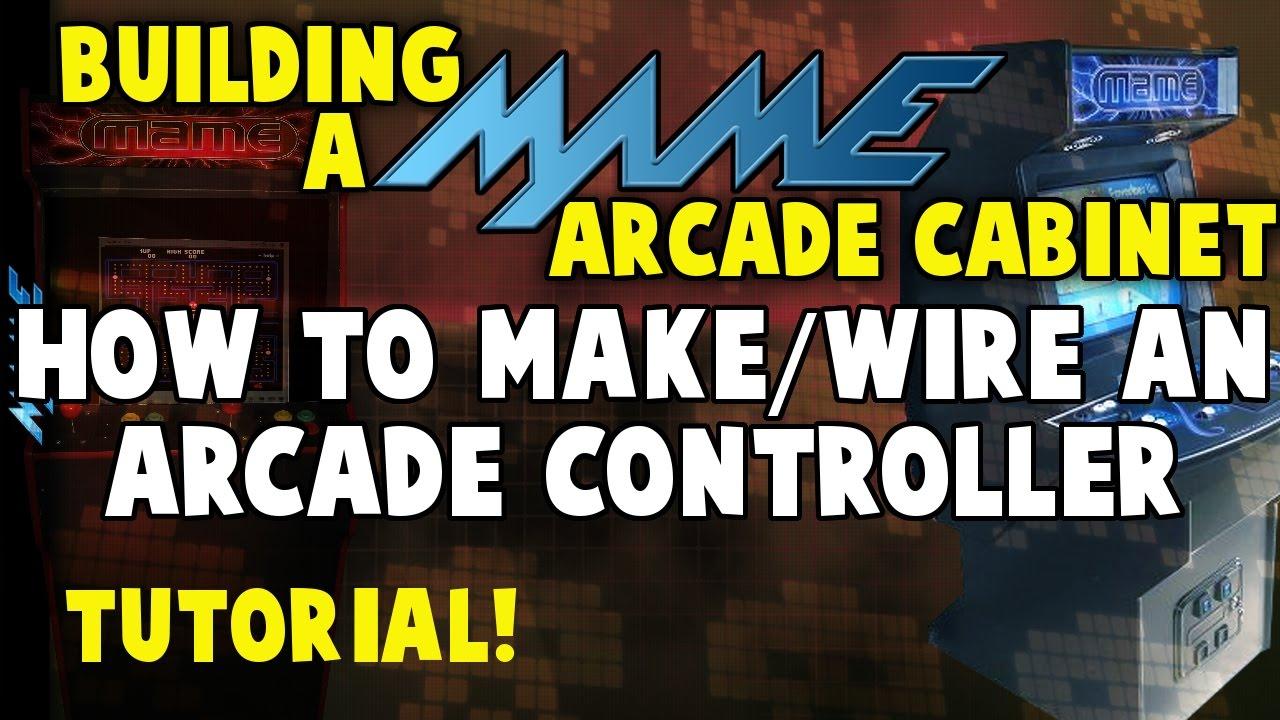 How to Make an Arcade Controller Panel - Building A MAME Arcade ...