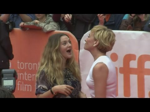 Drew Barrymore returns to the spotlight at Miss You Already premiere