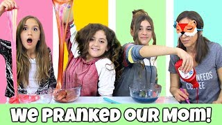 We Pranked Our Mom - Slime Challenge!