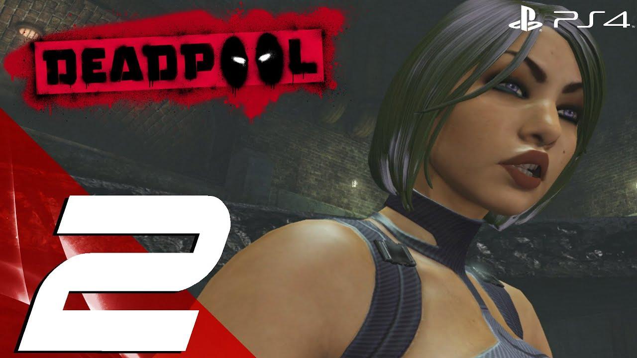 Deadpool PS4 - Gameplay Walkthrough Part 2 - Arclight Boss ...