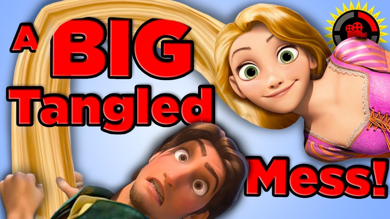 Film Theory: Tangled - Rapunzel's Hair is KILLING Itself!