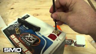 lexus is250 battery swap xs power d2400 agm