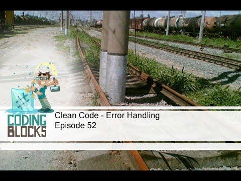 Clean Code – Error Handling