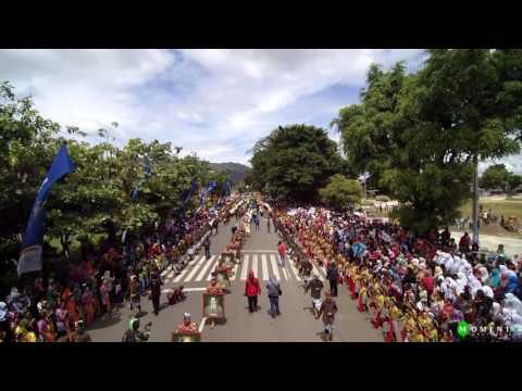 Kirab Kota Banjarnegara & Dieng Culture Festival 2016 - Aerial Photography