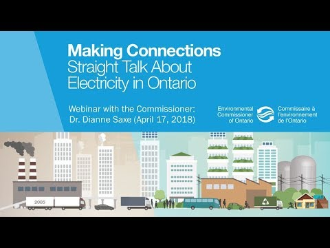 WEBINAR: Making Connections: Straight Talk About Electricity in Ontario