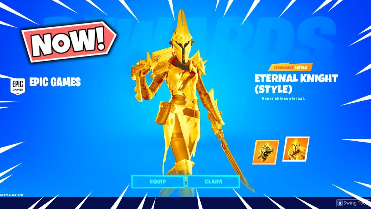 How To Get The Secret Eternal Knight Style In Fortnite Free Youtube