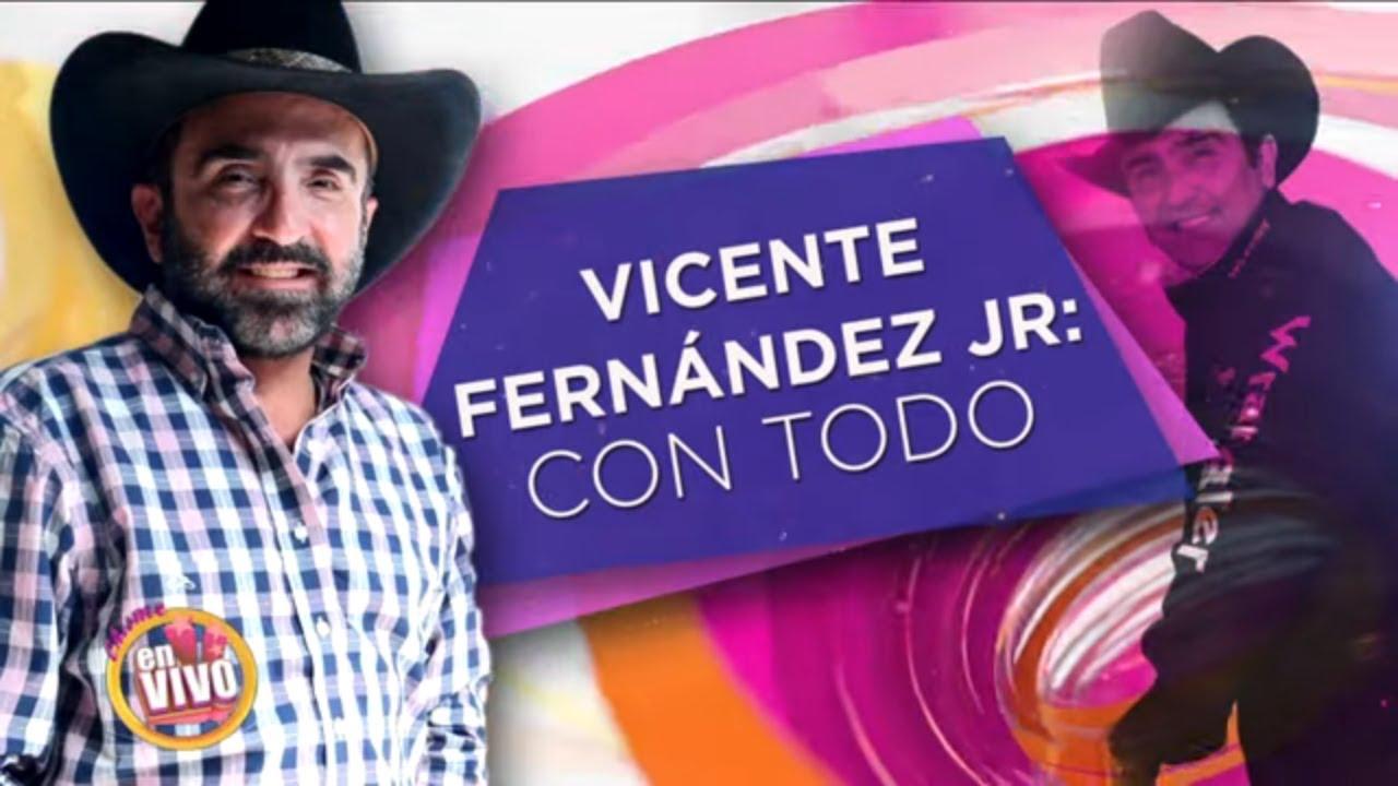VICENTE FERNANDEZ JR se deja ir contra Suelta la Sopa | Chisme En Vivo