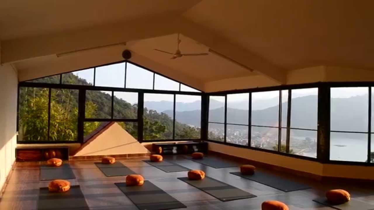 Foyer Console Yoga : Purna yoga retreat hall youtube